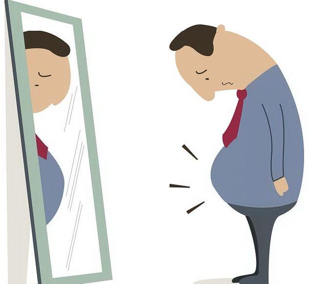 Bajar de peso caricaturas