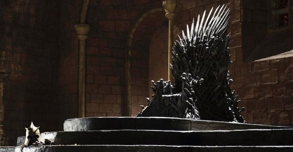 game of thrones Trono de hierro vacío